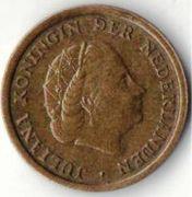 1 цент. 1962 год. Нидерланды.
