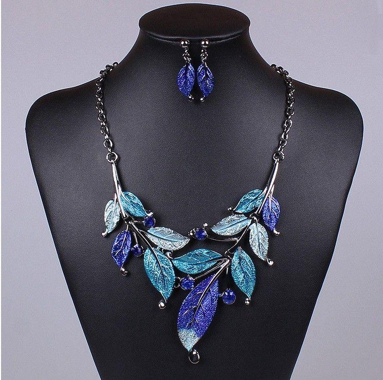 Комплект Set-040 Ожерелье+Серьги