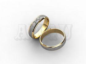 Обручальное кольцо LR 1804 f