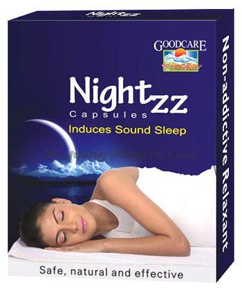 Успокаивающий препарат против бессонницы Nightzz Goodcare Pharma
