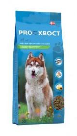 Proхвост д/взрослых собак с чувствительным пищеварением и склонных к пищевой аллергии, с лососем и рисом, 20 кг