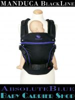 MANDUCA Baby And Child Carrier BLACKLINE AbsoluteBlue