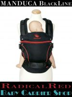 MANDUCA Baby And Child Carrier BLACKLINE RadicalRed