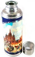 Термос со стеклянной колбой Peerless 1,2 литра
