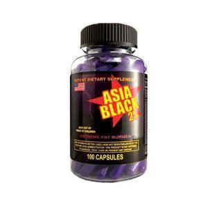 Жиросжигатель Asia Black 25 (Cloma Pharma) 100кап.