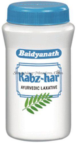 Аюрведическое слабительное при запорах Кабз-хар Байдьянатх / Baidyanath Kabz-har Laxative