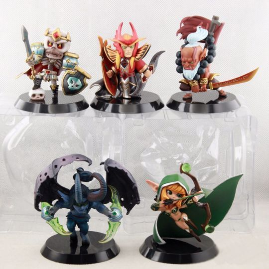 Пати из 5 героев Dota