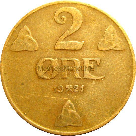 Норвегия 2 эре 1937 г.