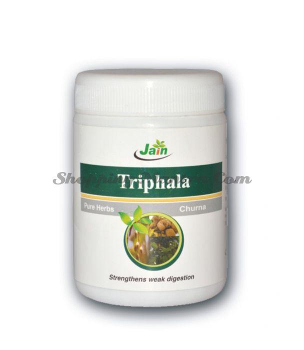 Трифала чурна Джайн Аюрведик (Jain Ayurvedic Triphala Churna)