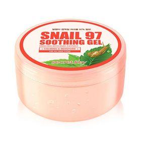 SECRET KEY SNAIL 97 SOOTHING GEL 300ml - гель с экстрактом слизи улитки для лица и тела