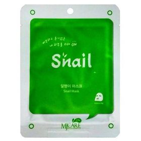 Mijin Care Snail MaskМаска тканевая улиточная