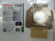 Пылесборник-мешок KAR 30 (2) Pro, для пром. пылесосов (Filtero) разм-410x630 mm, до 35 л.