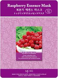 MJ CARE Essence Mask [Raspberry]- маска тканевая малина