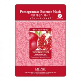 MJ CARE Essence Mask Pomegranate-Тканевая маска с экстрактом граната .