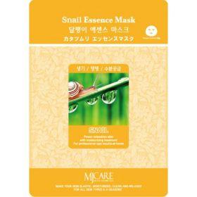 MJ CARESnail Essence Mask-Тканевая маска улиточный муцин.
