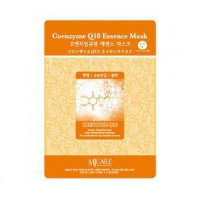 MJ CARE Essence Mask-Coenzyme Q10- тканевая маска с коэнзимом Q10.