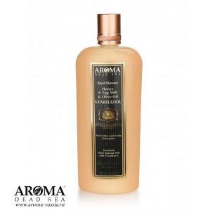 Стабилизатор-ополаскиватель для волос с медом, оливковым маслом и яичным желтком