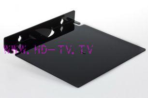 Универсальная пластиковая полочка под ресивер CADENA Б250 черная