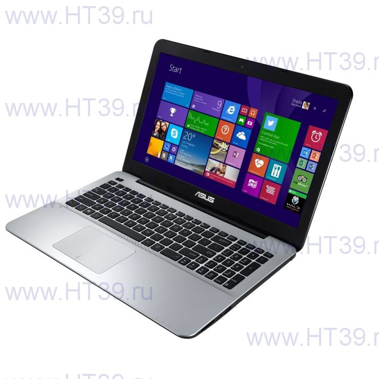 "Ноутбук Asus X555LN (Core i5 4210U 1700 Mhz/15.6""/1366x768/6.0Gb/750Gb/DVD-RW/NVIDIA GeForce 840M/Wi-Fi/Bluetooth/DOS)"