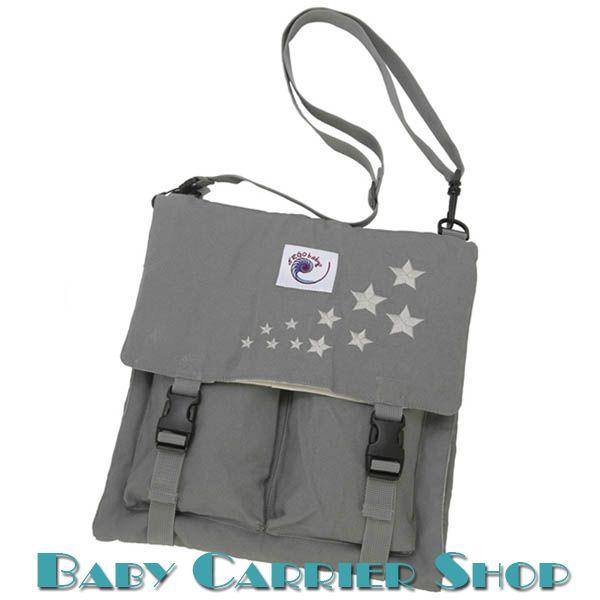 Набор для пеленания малыша ERGO BABY Мобильный пеленальник «CHANGING PAD Galaxy Grey» [Эрго Беби CP2EP Серый с вышивкой звездочек]