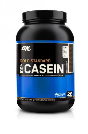 OPTIMUM NUTRITION 100% Casein Protein 2 lb (907гр.)  шоколад-арахисовое масло скл2 1-2дня