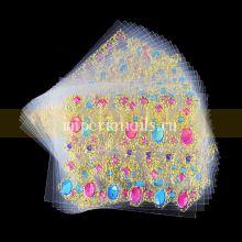 Наклейки - стикеры  Жидкие камни , набор 24 упаковки