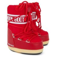 Moon Boot Nylon Red (детские) / 19-22, 27-30.
