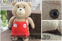 Тедди Бир, Плюшевый Тед, Тед из фильма, медведь Тед купить, Купить Теда из кино, герой фильма Третий лишний купить, купить плюшевого медведя Тед как в фильме, Тед накуривается, Тед жжот, Тед медведь купить