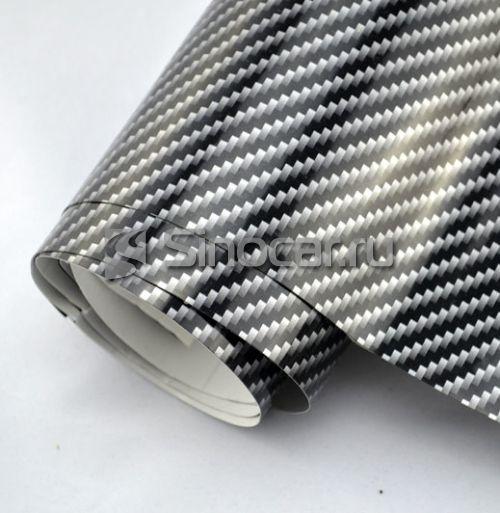 2D-Карбон Серебро-черный