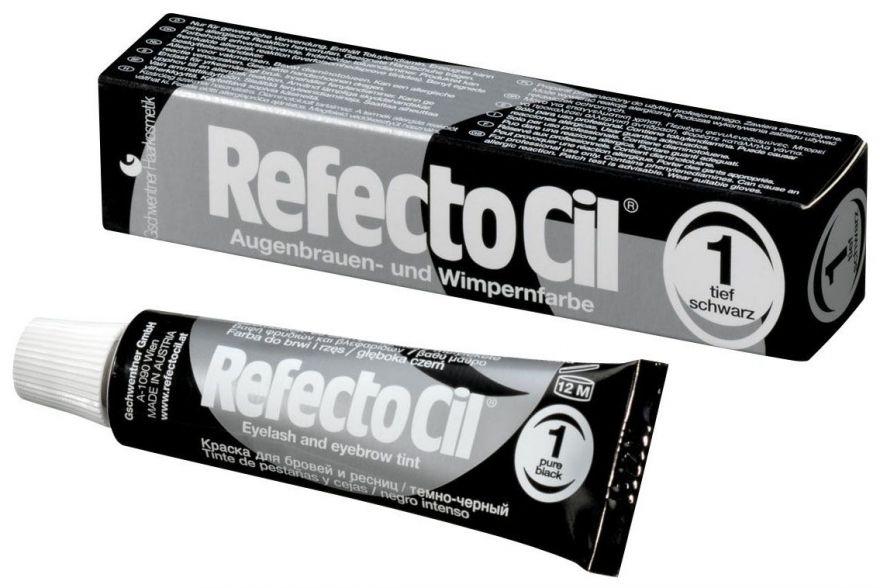 Refectocil Краска для бровей Черный  №1