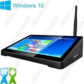 "Мини ПК PIPO X9 8.9"" FullHD Windows 10 Dual OS Intel Z3736F"