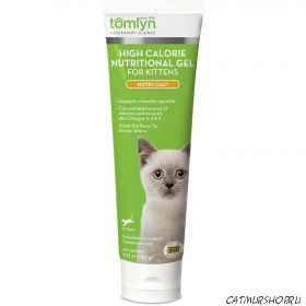 Tomlyn High Calorie Nutritional Supplement, Nutri-Cal® for Kittens (Нутри Каль)  для котят - тюбик 120,5 грамм