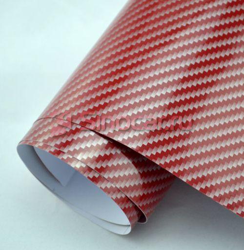 2D-Карбон Серебро-красный