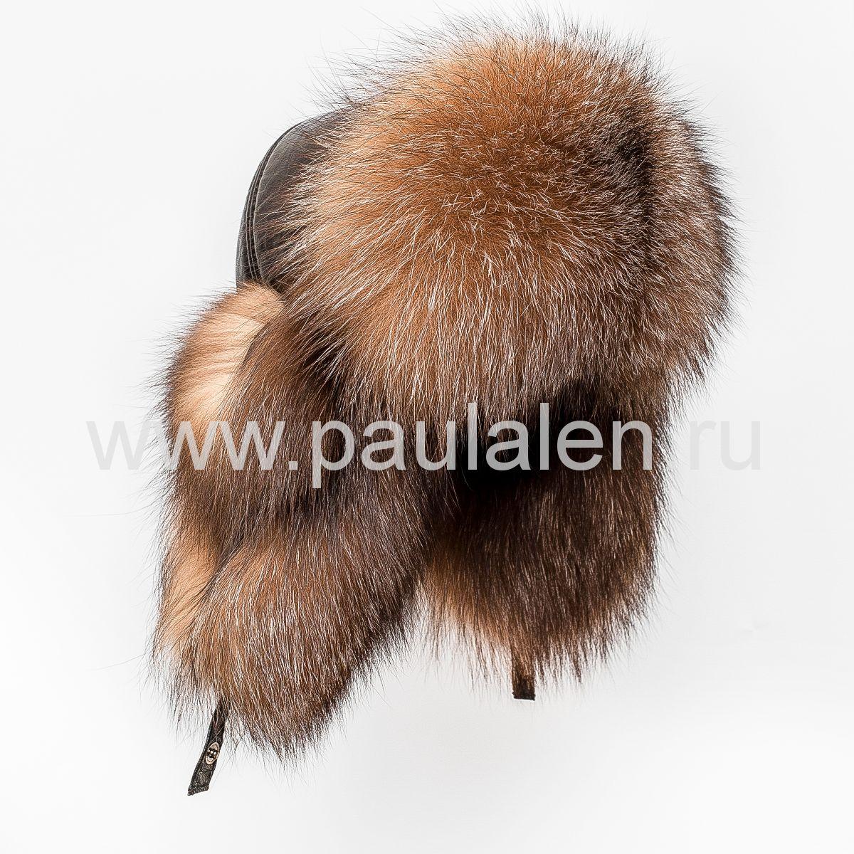 Женская меховая шапка из лисы Блюфрост (Bluefrost Fox) A026