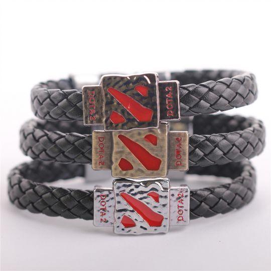 Кожаные браслеты Dota 2