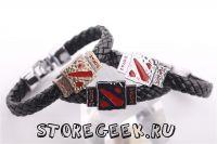 Купить кожаный браслет Dota 2