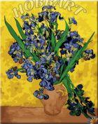 "Картина по номерам ""В. Ван-Гог. Ирисы"" 40х50"