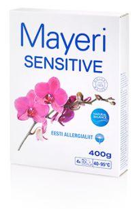 Стиральный порошок для стирки цветного и белого Mayeri Sensitive 400 г