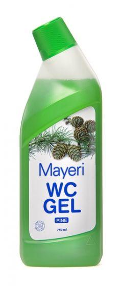 Гель для чистки туалетов Mayeri Pine 750 мл