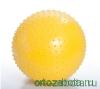 Мяч Тривес М-155 гимнастический, игольчатый диаметром 55 cm
