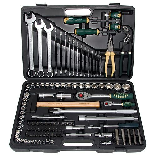 FORCE Набор инструментов 110 предметов № 41101