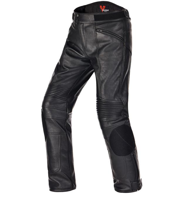 Штаны мотоциклетные (PU кожа) DUHAN 05 PU