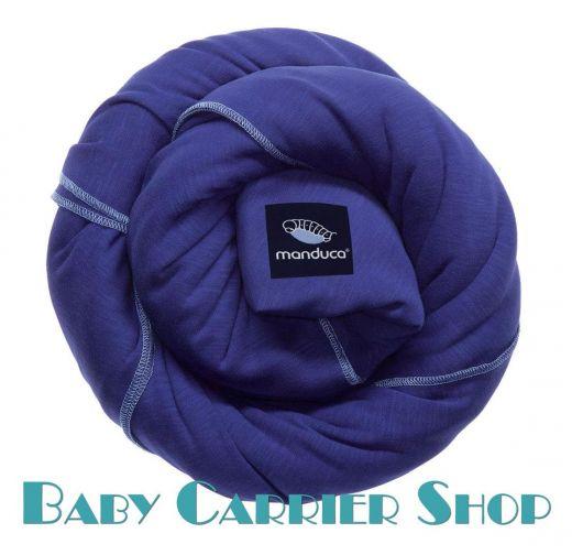 Трикотажный слинг-шарф для новорожденного MANDUCA Sling Royal [Мандука, органический хлопок, Синий]