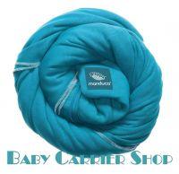 Трикотажный слинг-шарф для новорожденного MANDUCA Sling Ocean [Мандука, органический хлопок, Бирюзовый]