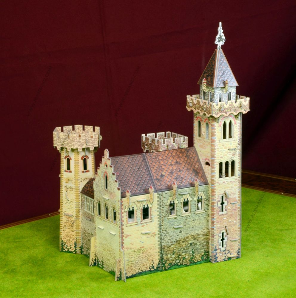THE KINGHT'S CASTLE  Wargame terrain  Medieval Town