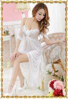 Белая длинная сорочка Изабелла