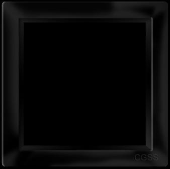 """Однопостовая рамка черная матовая CGSS """"Практика"""" PL-P101-BCM"""