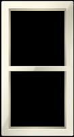 "Двухпостовая вертикальная рамка бежевая CGSS ""Практика"" PL-VP102-BGG"