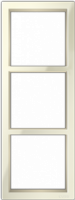 "Трехпостовая вертикальная рамка бежевая CGSS ""Практика"" PL-VP103-BGG"