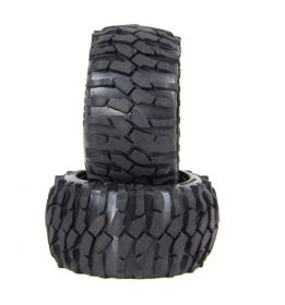 "HPI Baja 5B rear ""MACADAM"" tire set"